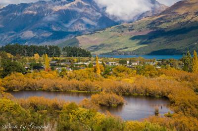 Kia ora! 秋のニュージーランド南島ドライブ旅行(19)グレノーキーラグーンの絶景とロード・オブ・ザ・リングのロケ地を巡る