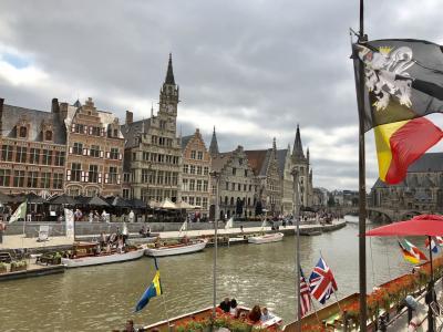 ベルギー オランダ フラワーカーペット  5-1