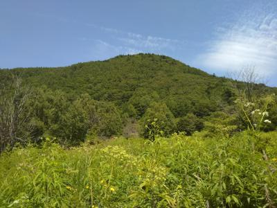 嬬恋山歩き〈桟敷山〉登山