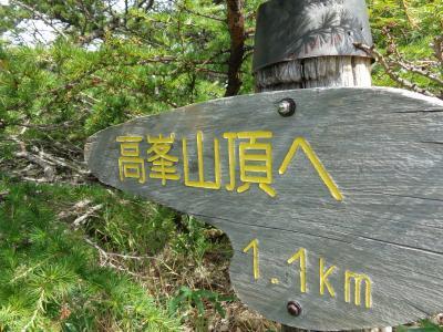 高峰温泉~池の平湿原
