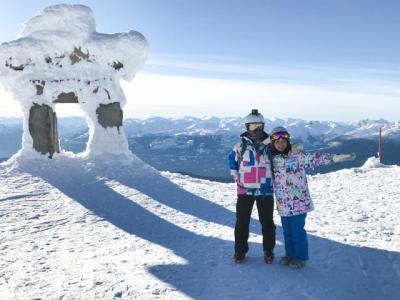 定年記念 夫婦で行ったウイスラー・スキー旅行