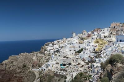 再びギリシャ 個人手配 5日目 サントリーニ島