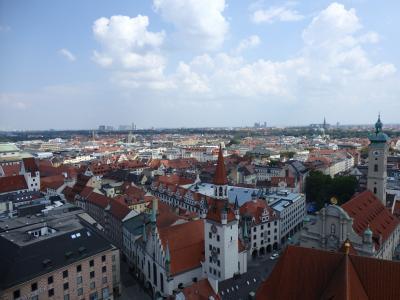 中央ヨーロッパを巡る旅 2日目 ミュンヘン観光 ~南独・オーストリア・ハンガリー・チェコ~