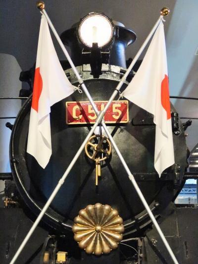 鉄道博物館-5 皇室用客車(御料車)ガラス越しに展示 ☆先端技術の粋を集めて