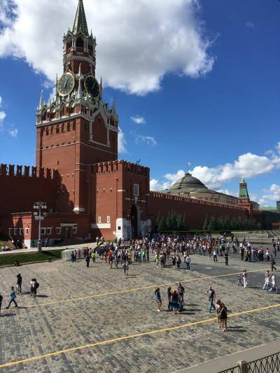 初めてのモスクワ