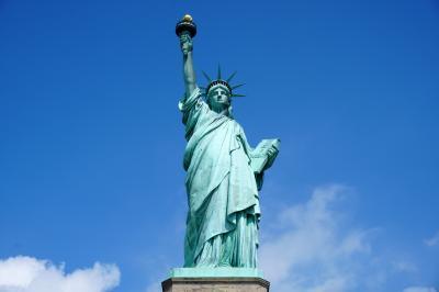 2018年夏季休暇 ニューヨーク ③自由の女神、ウォール街、ワールド・トレード・センター