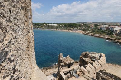 美しき南イタリア旅行♪ Vol.164(第6日)☆Le Castella:「レ・カステッラ城」主塔からの絶景パノラマ♪