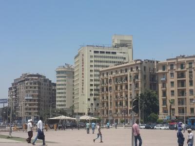 タハリール広場の真ん前 クレオパトラホテルが再オープン