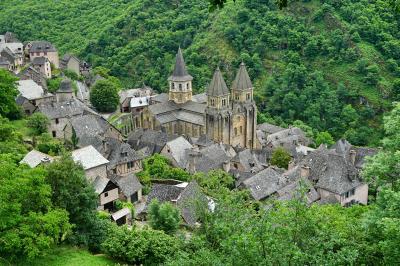 フランス・ドライブ 3,236km - #12 : 世界遺産 コンク 巡礼の村 前編