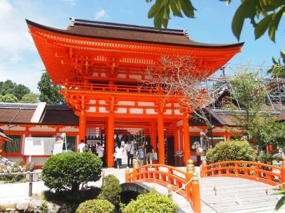 青春18きっぷの旅 2018年夏 京都旅行[2]上賀茂神社・今宮神社・下鴨神社
