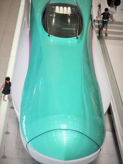 鉄道博物館-8 E5系「はやぶさ」グランクラス!新品鎮座 ☆山形新幹線400系電車も