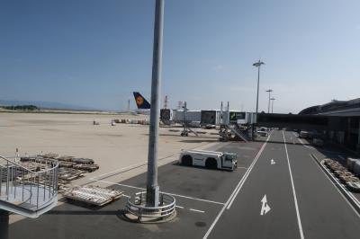 夏旅前半は日本帰国7★大阪★娘10か月3度目の日本 チェックイン締め切りギリギリセーフ! キャセイ航空利用 関空から香港へ