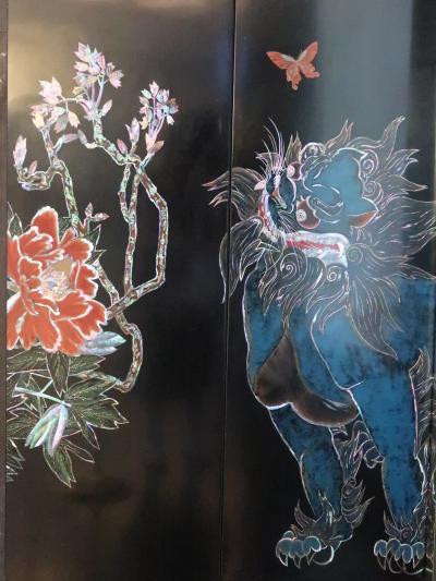 目黒-1 雅叙園東京「昭和の竜宮城」の装飾 ☆[唐獅子牡丹]は何処に