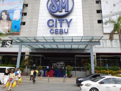 フィリピン航空利用の7月セブ!シティに移動して楽しんでいます。
