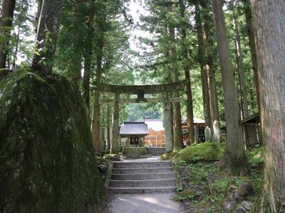 甲斐駒ケ岳神社 (白州ドライブ 2/3)