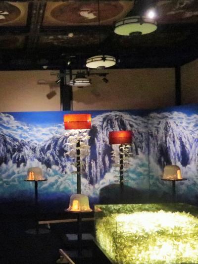 目黒-4 和のあかり展 ≪十畝の間 ≫ 日本画堂々の三部作 ☆折花が5000個も