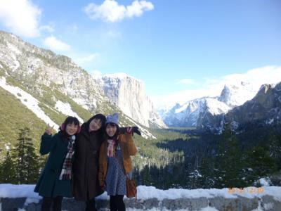 アメリカ・ヨセミテ国立公園へ!家族3人でツアーに参加☆