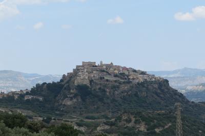 美しき南イタリア旅行♪ Vol.166(第6日)☆Le Castella→Santa Severina:美しき村「サンタ・セヴェリーナ」へ♪