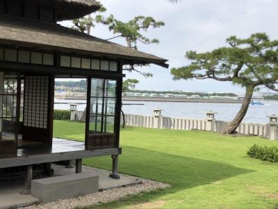 旧伊藤博文金沢別邸が横浜に