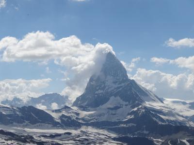 スイスパス8日間の旅(3)ツェルマット・ゴルナーグラート