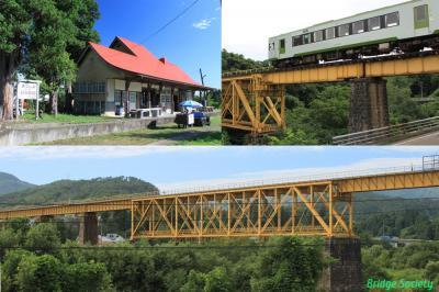 ◆新潟~会津若松 磐越西線沿線の橋梁等を巡る旅◆その2 上野尻~会津若松