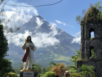 憧れのマヨン山(フィリピン富士)
