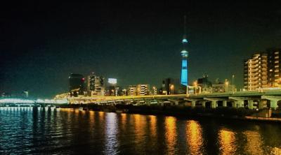 東京食べ歩き旅行 (1日目)