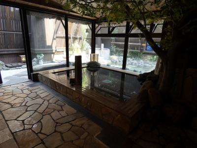03.イニエスタを見る(筈だった)東京2泊 すえひろの湯 ドーミーイン秋葉原 温泉大浴場 すえひろの湯