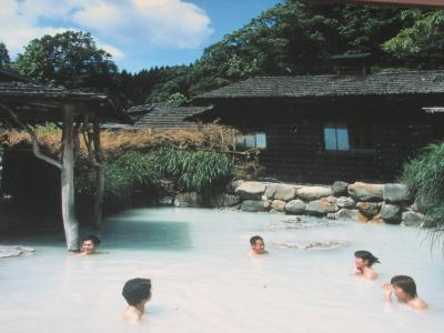 湯川温泉から鶴の湯、磐梯熱海温泉へ