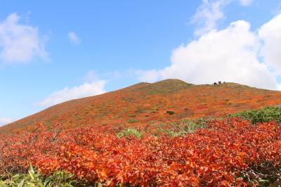 山全体が紅葉するという、栗駒山の紅葉を見に行ってみました