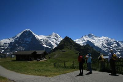 スイス山岳観光の定番、グリンデルワルト観光ハイライト(2)