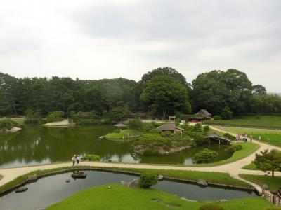 猛暑の岡山旅行 ① 初日は岡山駅の周辺観光&あなごめし