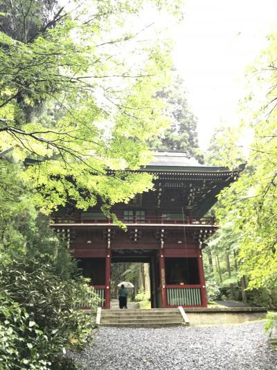 御岩神社~宇宙から見える光の柱が立つ神社~