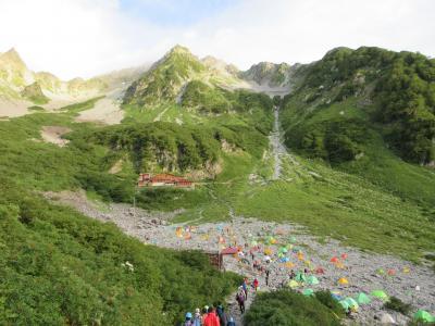 ほのぱぱの北穂高岳単独登山