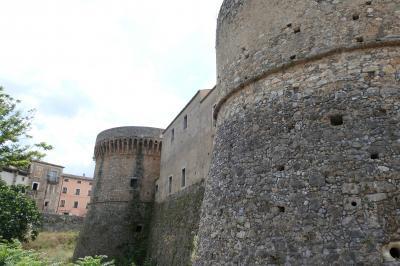 美しき南イタリア旅行♪ Vol.192(第7日)☆Casrovillari:「カストロヴィッラリ城」の周りを歩いて♪