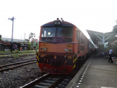 2018年の夏休みは泰緬鉄道を追い求めてタイへ/羽田空港からトンブリー駅へ/その1