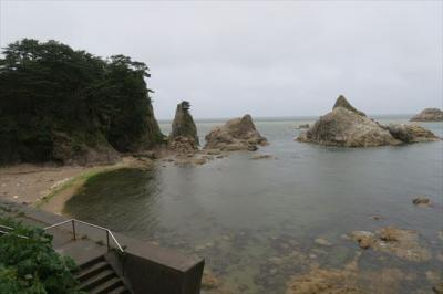 2018年08月 新潟県)笹川海岸に行ってきました。