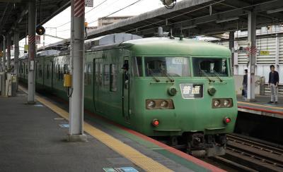 青春18きっぷで出かけたいけど各地で大雨警報・・・そうだ、京都へ行こう。