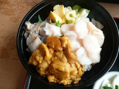 chokoっと散歩~青森の短い夏を満喫するために、うに丼を食べよう!!~