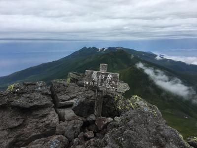 2018年08月 日本百名山54座目となる羅臼岳(らうすだけ、1,661m)を登りました。