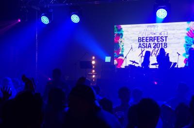 シンガポール旅行2018 1-6 BeerFestAsia 女性DJがカッコ良すぎた!