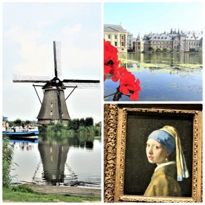 オランダ、ベルギー、ルクセンブルクとおまけのドイツ8日間 VOL.6「キンデルダイクとハーグの街でマウリッツハイス美術館鑑賞」