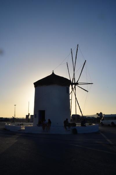 パロス島の風車