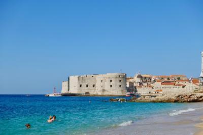 【自分で手配】ドブロブニクからローマ 、ついでにフィレンツェの一人旅 6泊8日③バニェビーチ、いよいよローマへ