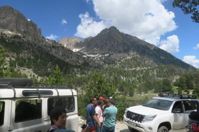 ピレネー山脈のハイキング⑥西・アイギストルテス国立公園