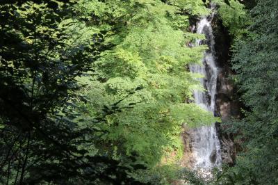 夏の終わりの西沢渓谷