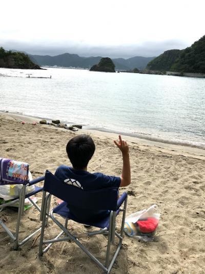 2018年8月 関西と思えない綺麗な海で海水浴と矢田川温泉 今年は2つのいいことが!