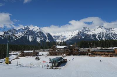 カナダ バンフ スキー旅行 GW 5泊6日