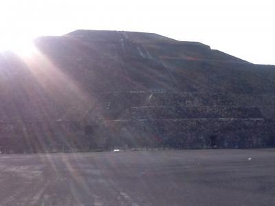 2回目のメキシコ旅行。2(テオティワカン遺跡の見学)