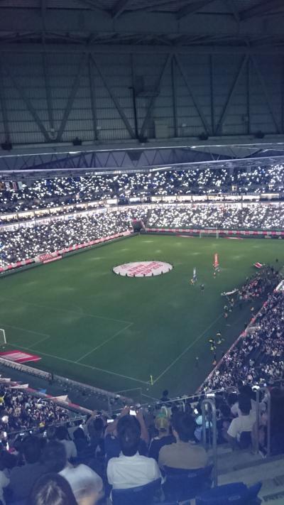 Panasonic Stadium Suitaでの代表戦